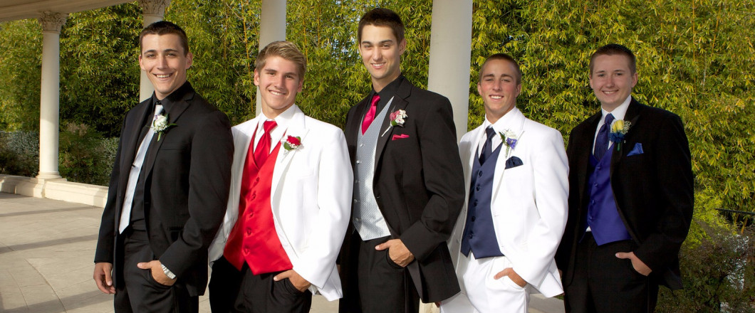 $15 Off Prom Rentals If You Mention Our Website and $25 off if you like us on Facebook!