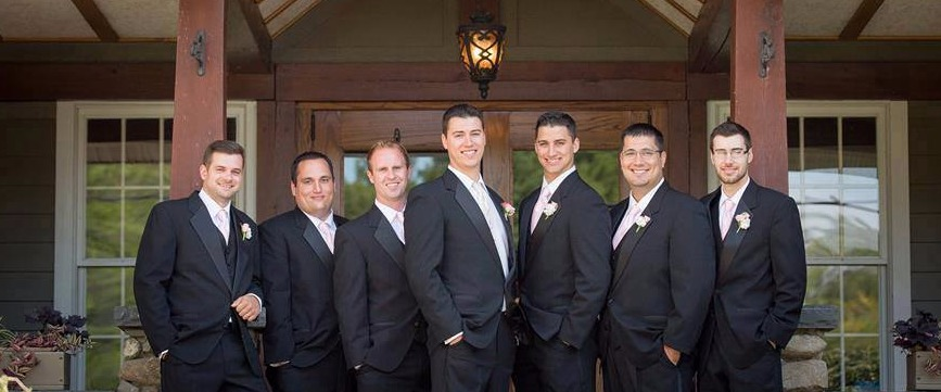 With a Party of 6 the Groom's Tuxedo is FREE!